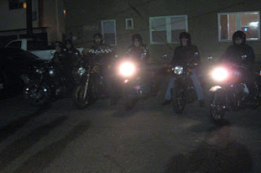 Some Britts stopped by for bike night