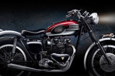 1957 Triumph Tiger 110 – Painted with Light