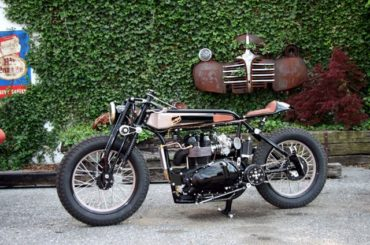 Triumph TT Deluxe Café Racer by LC Fabrications