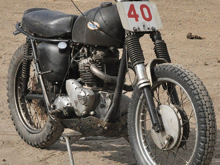 Ultimate Survivor: 1967/'68 Triumph TR6C Desert Sled