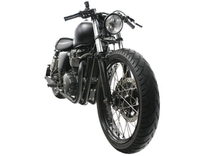 British Customs' 'Back to Basics' Bonneville