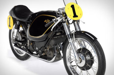 1954 AJS E95 Porcupine Racing Motorcycle