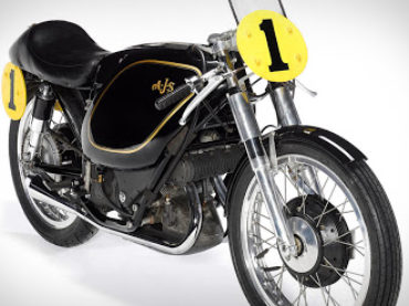 1954 AJS E95 Porcupine Racing Motorcycle