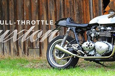 For Sale :: Custom Triumph Thruxton Cafe Racer