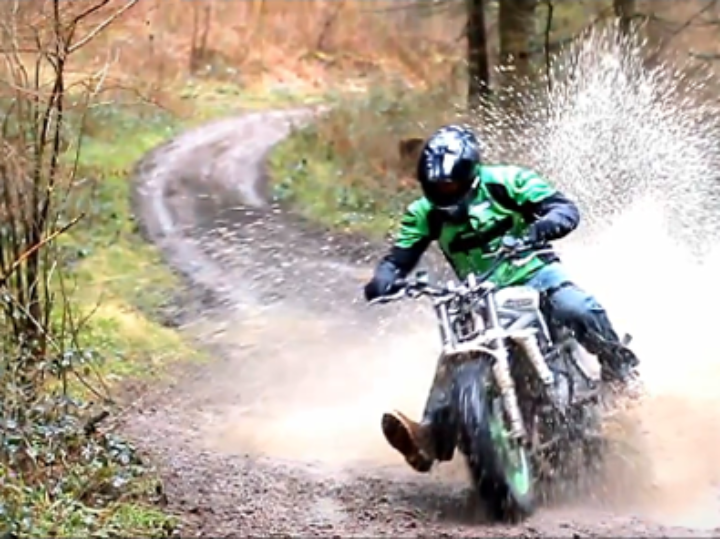 What? A Triumph Street Triple 675R…Dirtbike?!