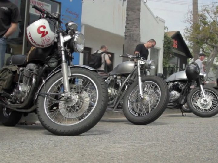 The Downshift :: Cafe Racers 'Vintage Style' Video