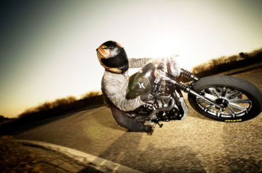A Harley Davidson 'Hurley' Scrambler by Roland Sands Designs