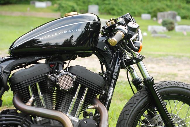 Harley Davidson: Harley Davidson XL1200N Cafe Racer