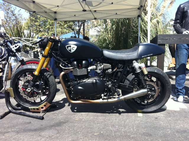 British Customs, Triumph cafe racer, Bullitt OG