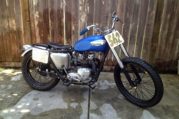For Sale :: Triumph T100C aka 'The Raped Ape'
