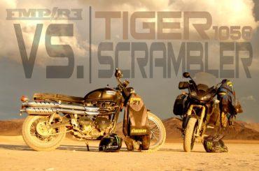 Triumph Tiger 1050 vs. Triumph Scrambler