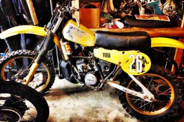 The Bullitt goes (vintage motocross) racin'