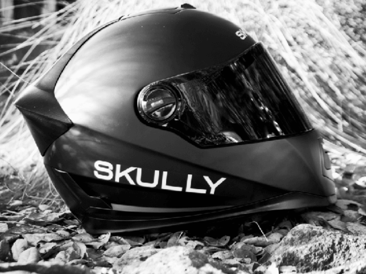 Heads Up Display Motorcycle Helmets by Skully