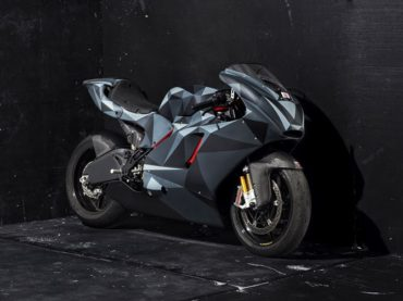 'Black Polygon' Ducati Desmosedici RR by Death Spray Custom