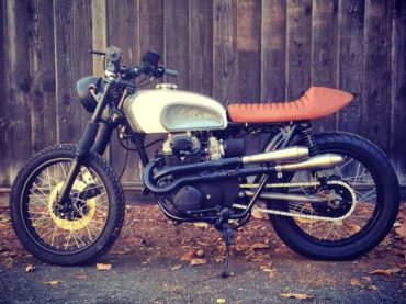 Project Update :: Bullitt CB Scrambler