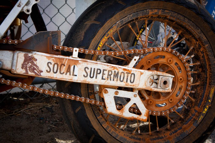 SoCal Supermoto swingarm