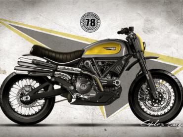 Ducati Scrambler Concept Mock-Ups