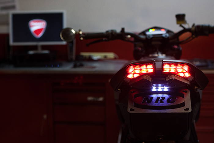 Bulitt SP Ducati Hypermotard SP custom