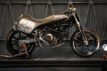 Custom Ducati Tracker by Earle Motors