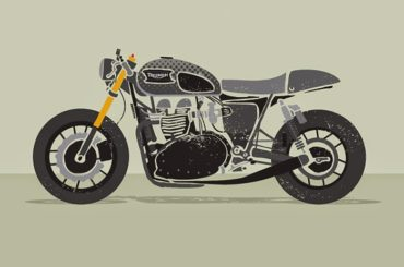 Moto Art by the Left Handed Graphic