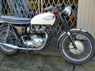 For Sale :: Scooter Pro's 1966 Triumph Bonneville T120