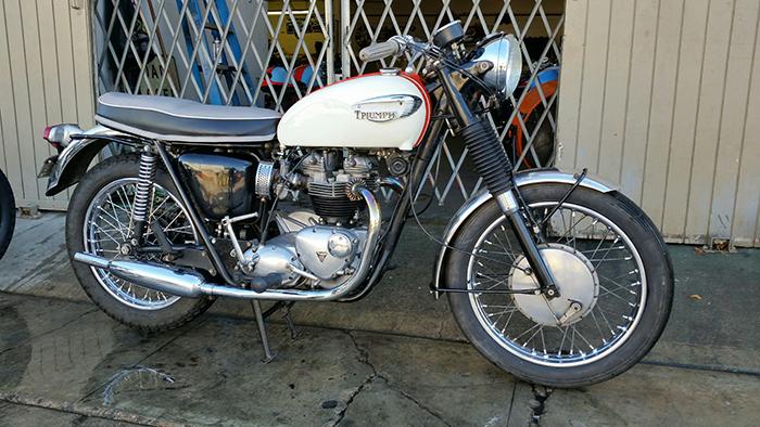 For Sale Scooter Pros 1966 Triumph Bonneville T120 The Bullitt