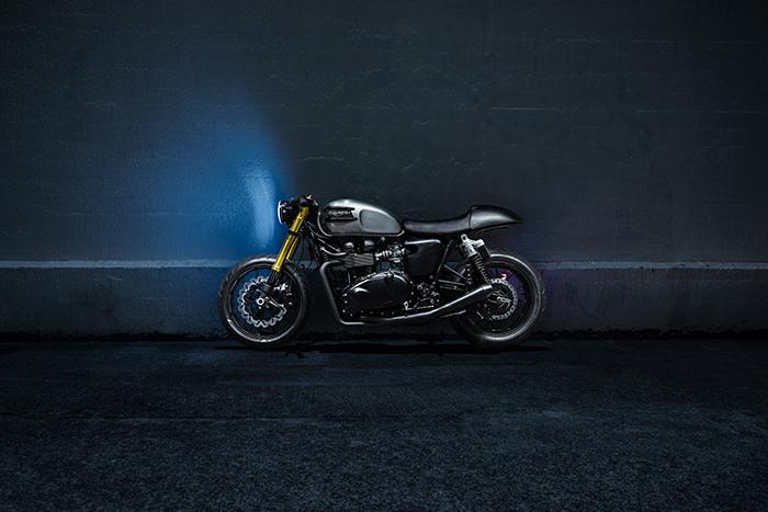 Custom Triumph Bonneville - Bullitt OG