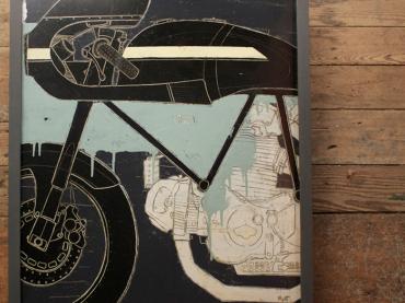 Moto Art :: Christopher Myott x Walt Siegl