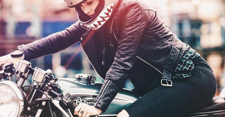 Moto babe Monday via Joshua Hanford
