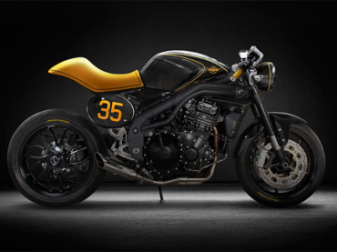 Triumph Speed Triple Cafe Racer Concept by Jakusa Design