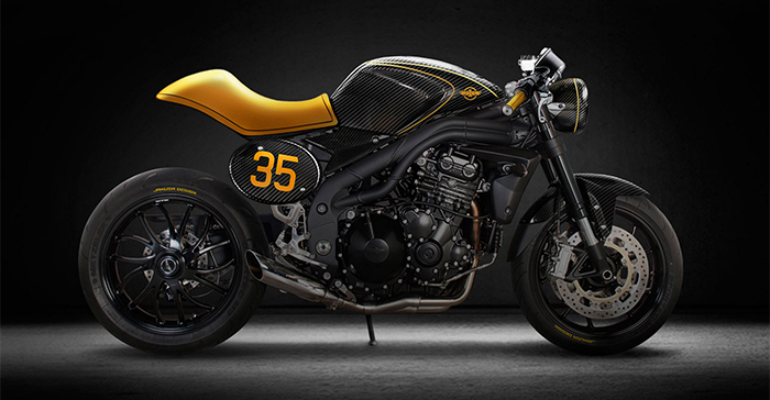 Triumph Speed Triple Cafe Racer Concept by Jakusa Design