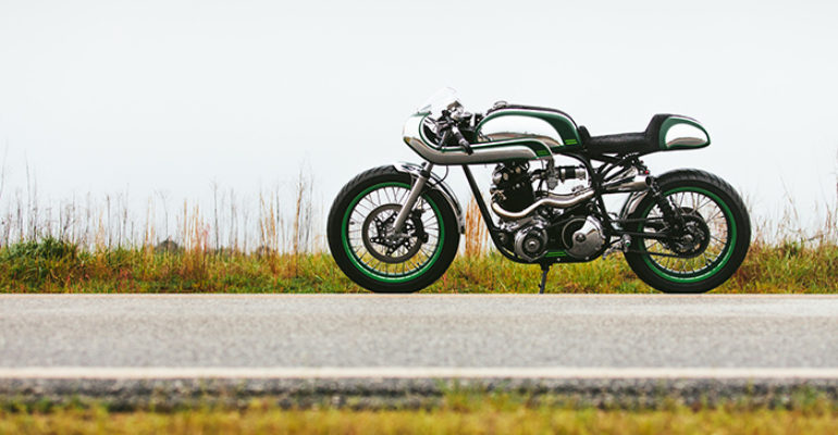 1968 Norton 'Misty Green' by Fuller Moto