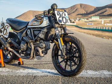 Ducati Scrambler Racer by Heath 'The Chief' Cofran