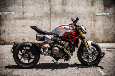 Custom Monster 1200S Siluro (2016) By XTR