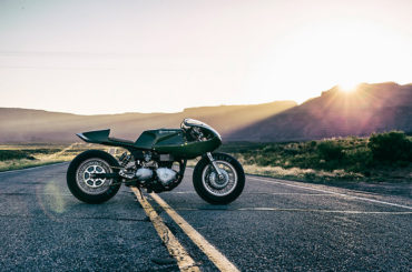 Three Martini Lunch :: Custom Triumph Thruxton by Icon 1000