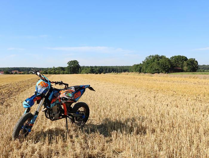 custom KTM 450 EXC