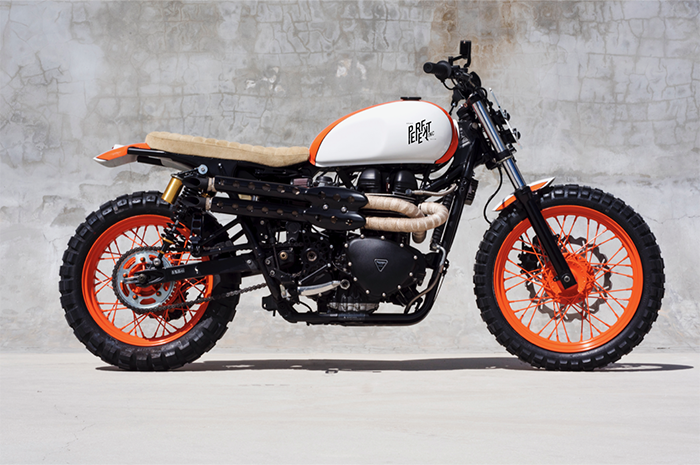 Custom Triumph Bonneville By Perfekt Speed Shop The Bullitt
