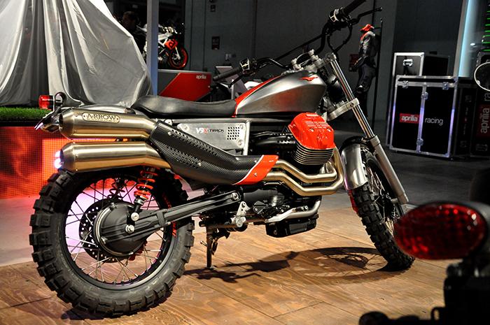 Moto Guzzi V9 X-Track concept