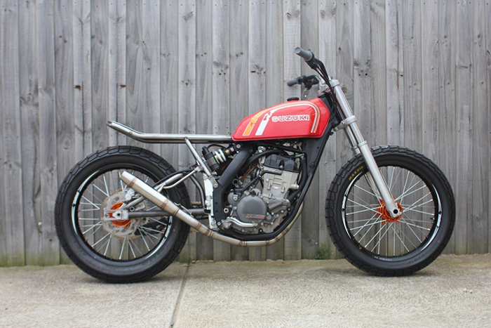 KTM 250 EXC-F cafe racer mock up