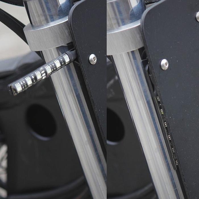KTM 250 EXC-F cafe racer blinkers