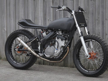 KTM Street tracker by Engineered to Slide