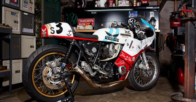 'Candylegs the third' CB750 racer