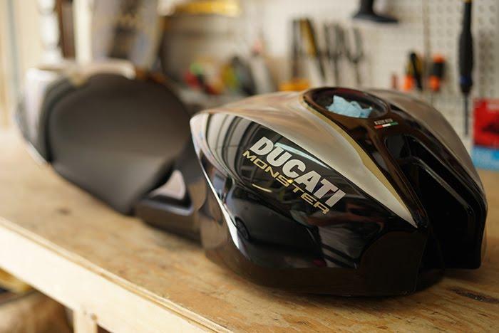 Bullitt Ducati, Photo Gallery Part I cafe racer