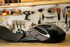 Bullitt Ducati, Photo Gallery Part I new tank paint