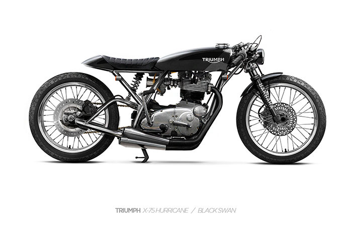 Triumph concept - Barbara Motorcycles