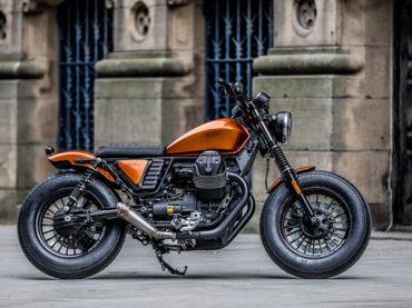 Moto Guzzi V9 Bobber by Moto Strada