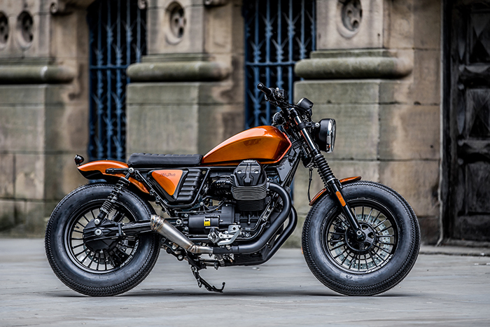 Ducati Monster 821 >> Moto Guzzi V9 Bobber by Moto Strada - The Bullitt