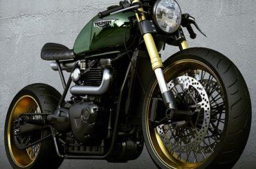 Triumph cafe racer concepts by Ziggy Moto