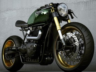 Triumph cafe racer concepts by Ziggy Moto