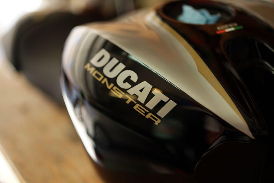 Bullitt 821: Ducati Monster 821 Build classic Ducati
